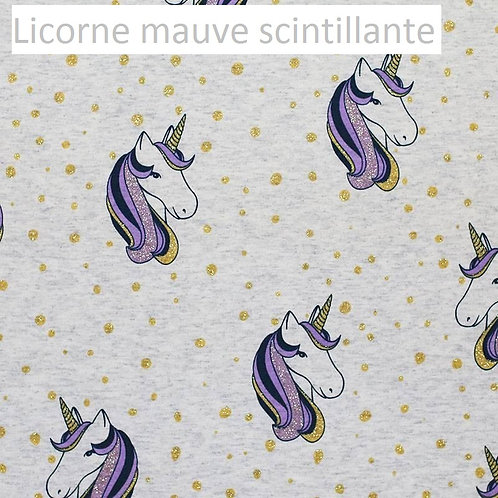 Stomie Patch - Licorne Mauve