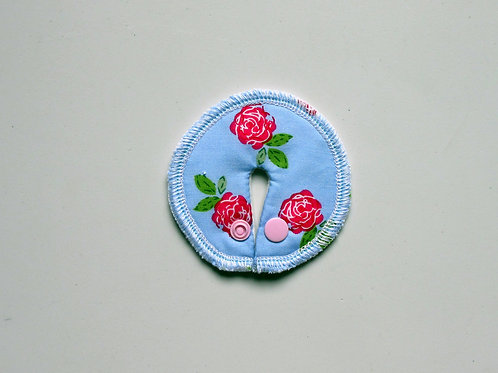 Stomie Patch - Roses Turquoises