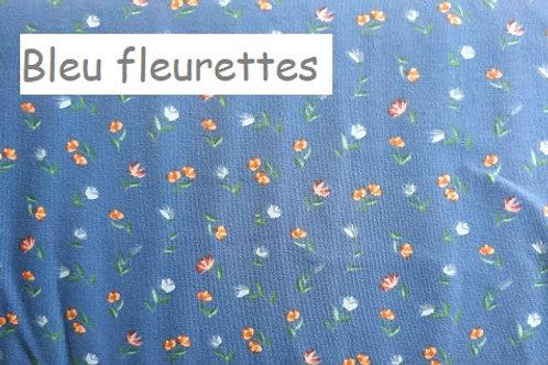 Body gilet - BLEU FLEURETTES