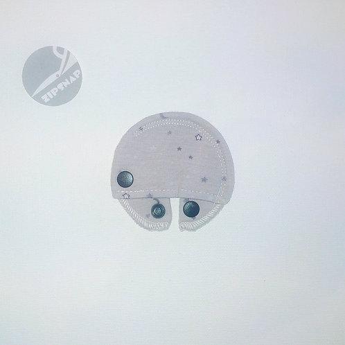 Stomie Patch - Gris étoiles Lune