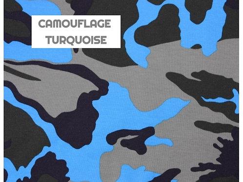 Body gilet - CAMOUFLAGE TURQUOISE