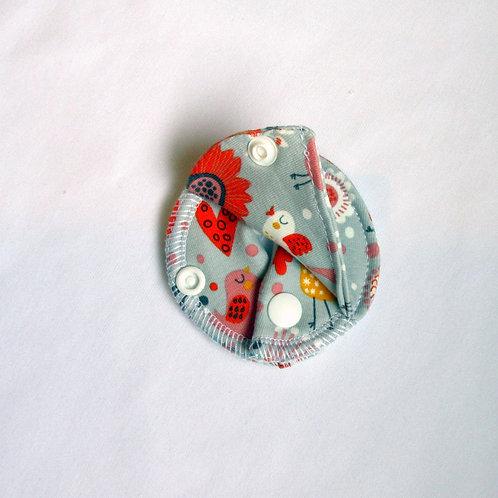 Patch Couvrant - GRIS OISEAUX