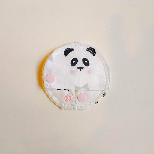 Patch Couvrant - PANDAS FOND BLANC
