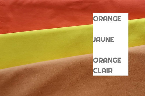 Stomie Patch - Uni Orange-Jaune