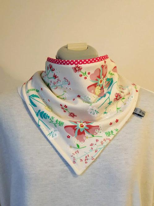 Foulard absorbant Bandana - Fleurs du Japon (prix à partir de)