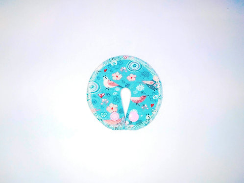Stomie Patch - Oiseaux Turquoise