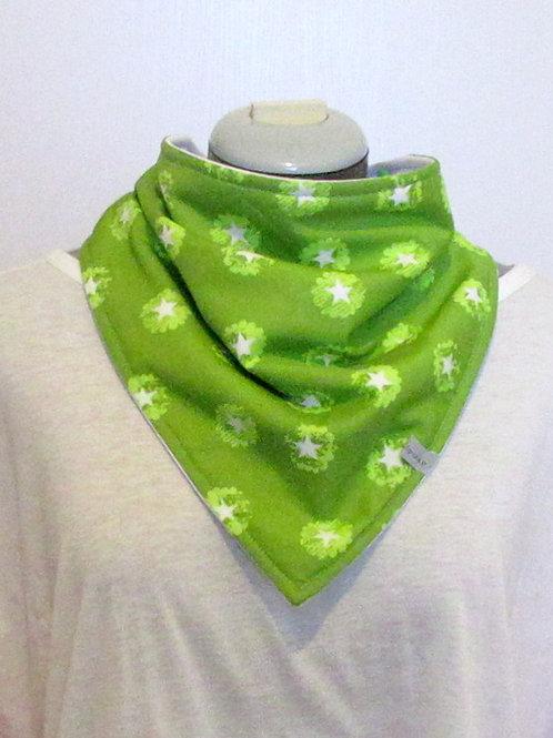 Foulard absorbant Bandana - Vert étoiles (prix à partir de)