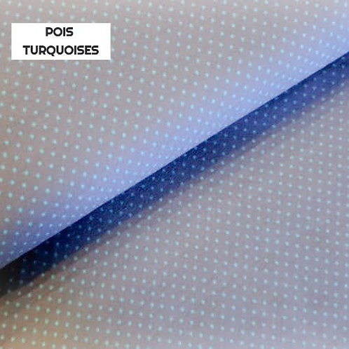 Stomie Patch -Pois turquoises