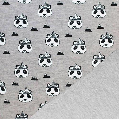 Sarouel gris Panda (ouvertures au choix)