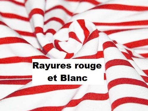Stomie Patch - Rayures Rouge et Blanc