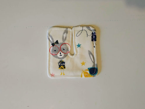 """Tracheo-patch"" - LAPINS A LUNETTES"