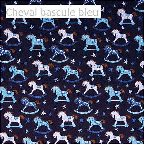 Stomie Patch - Cheval à bascule Bleu