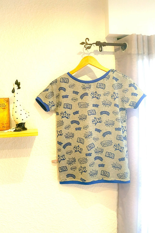 T-SHIRT - COOL BLEU
