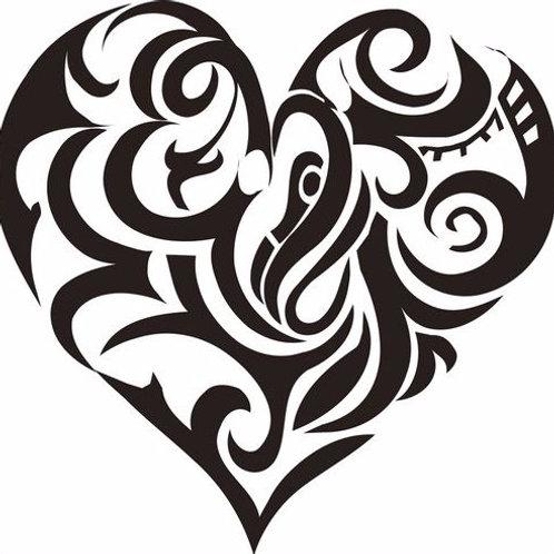 Coeur tribal 2