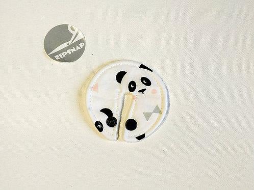 Stomie Patch - Pandas Fond Blanc