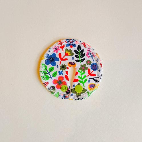 Stomie Patch - Fleurs Multicolores