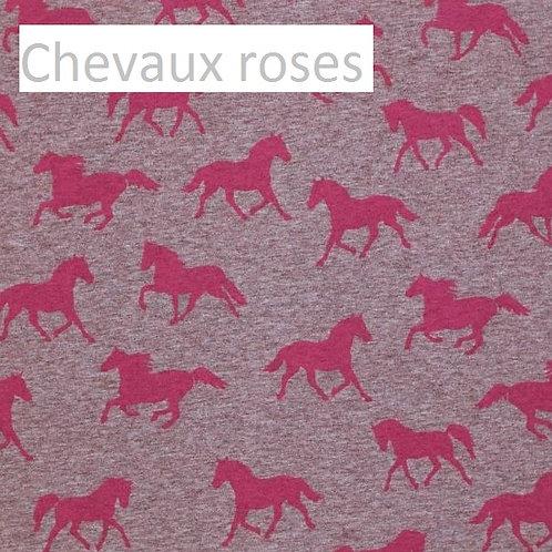 Body gilet - CHEVAUX ROSES