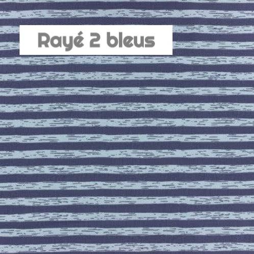 Stomie Patch - Rayé 2 bleus