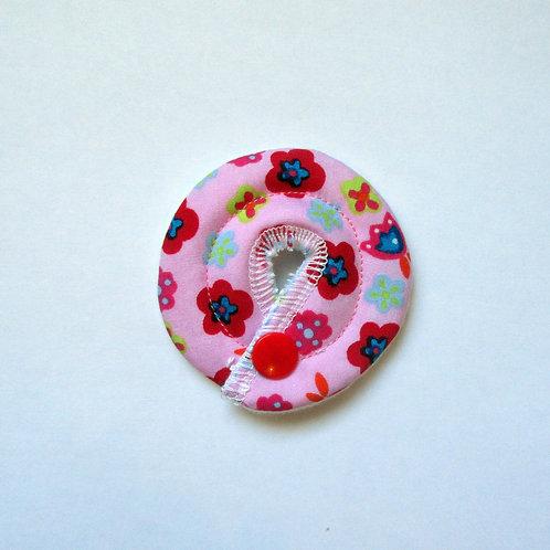 Petit Stomie Patch - rose à fleurs
