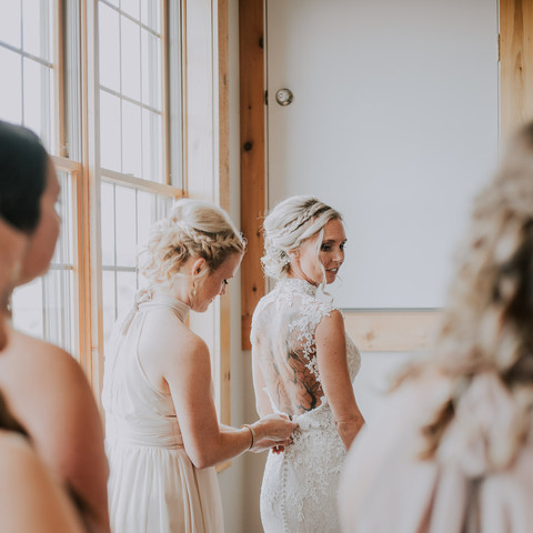 jamie + bridesmaids