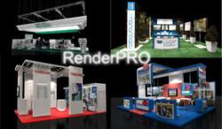 renders stands