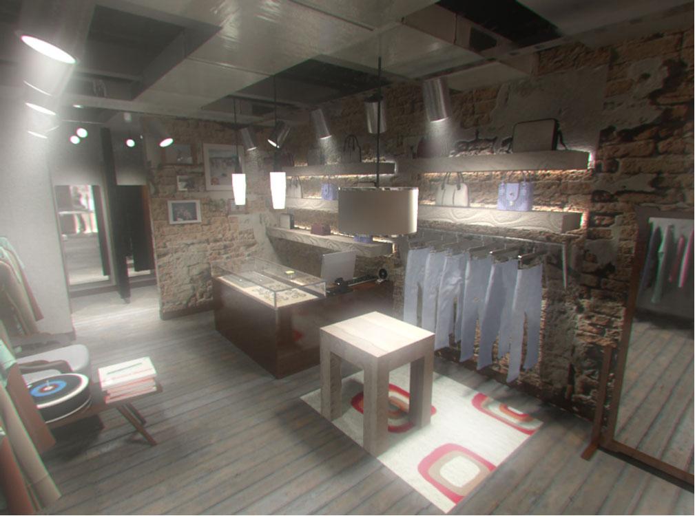 locales comerciales 3d