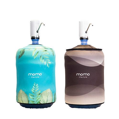 Combo Momo Oceano - Bomba e capa dupla face para galao Oceano Momo Lifestyle