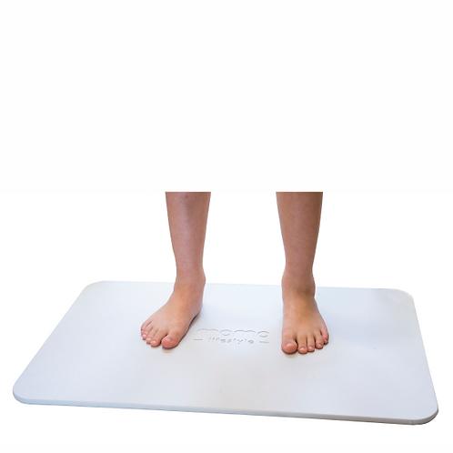 Tapete para banheiro antiderrapante terra diatomácea Momo Lifestyle - Drytomita®