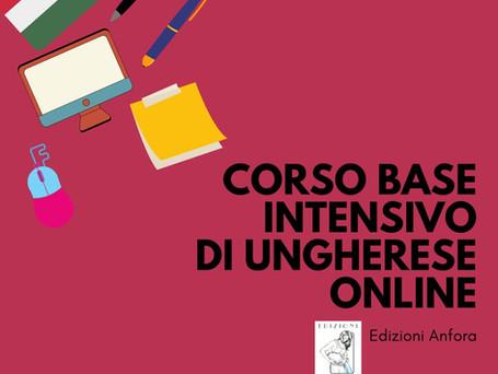 Corso base intensivo di ungherese online - giugno 2021