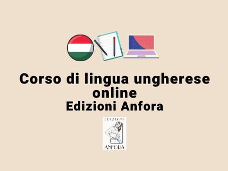Corso di ungherese online - Ottobre 2021