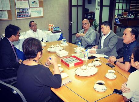 Meeting with Tito Boy Abunda