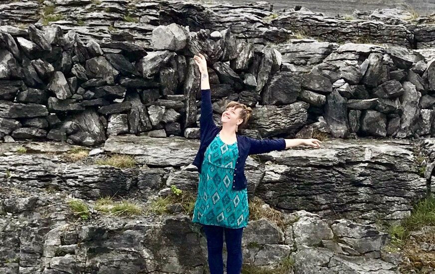 """Click the photo to listen to my podcast interview with fellow dance/movement therapist, Orit Krug on """"Mind Your Body"""""""