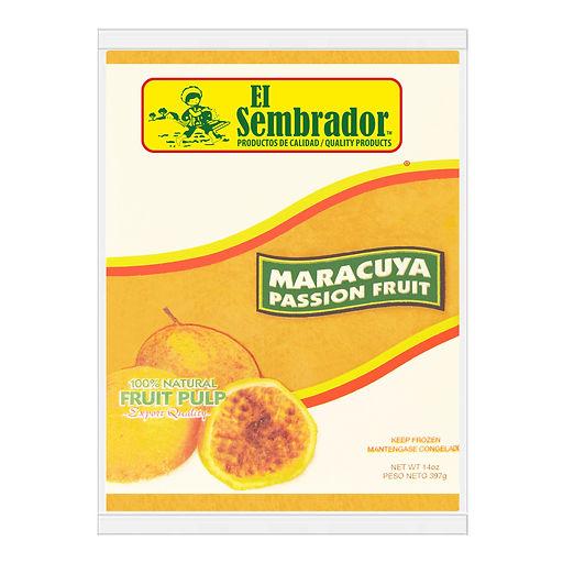 El Sembrador Maracuya Fruit Pulp, 14oz.j