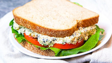 Chickpea Tuna Sandwich