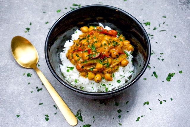 Chickpea Curry + YouTube Revamp