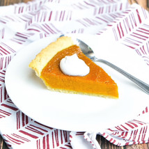 Pumpkin Pie + Coconut Whipped Cream