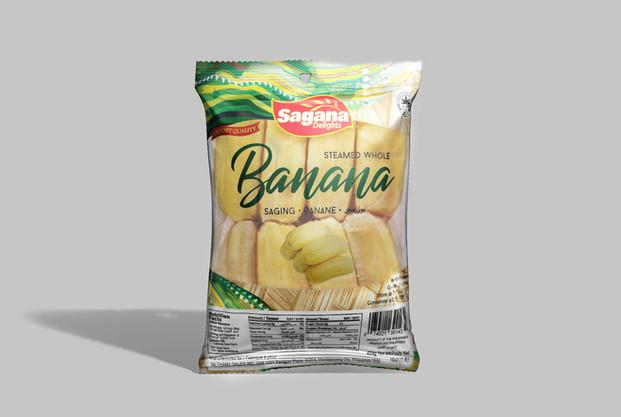 Sagana Steamed Banana