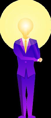 man, suit, lamp,