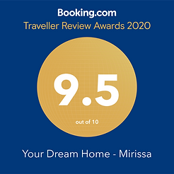 9.5 rating on booking.com House for rent in Mirissa