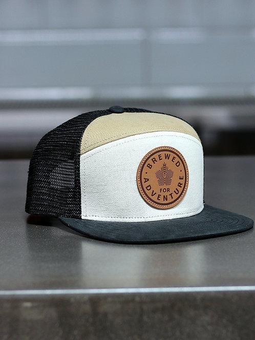 Hana Koa Leather Patch Tradesman Hat