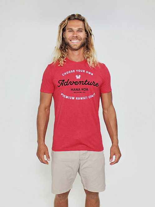 Choose Your Adventure - Men's T-Shirt - Red