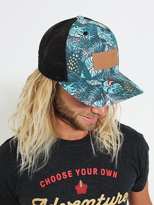 Hana Koa Tropical Trucker Hat