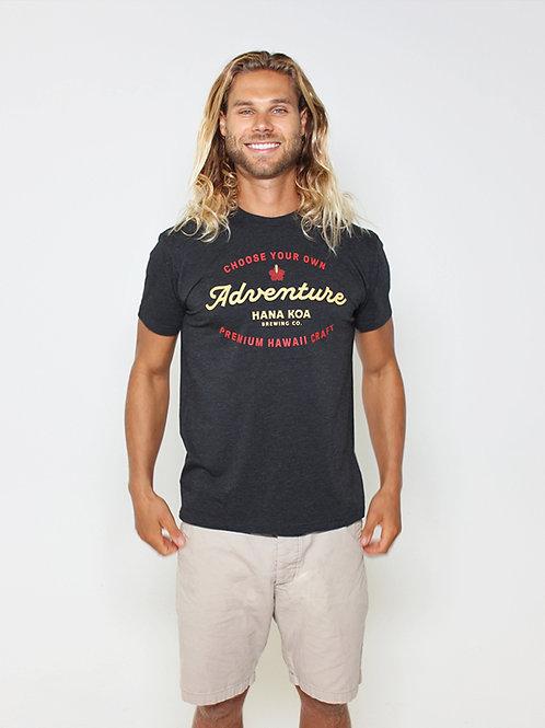 Choose Your Adventure - Men's T-Shirt - Black