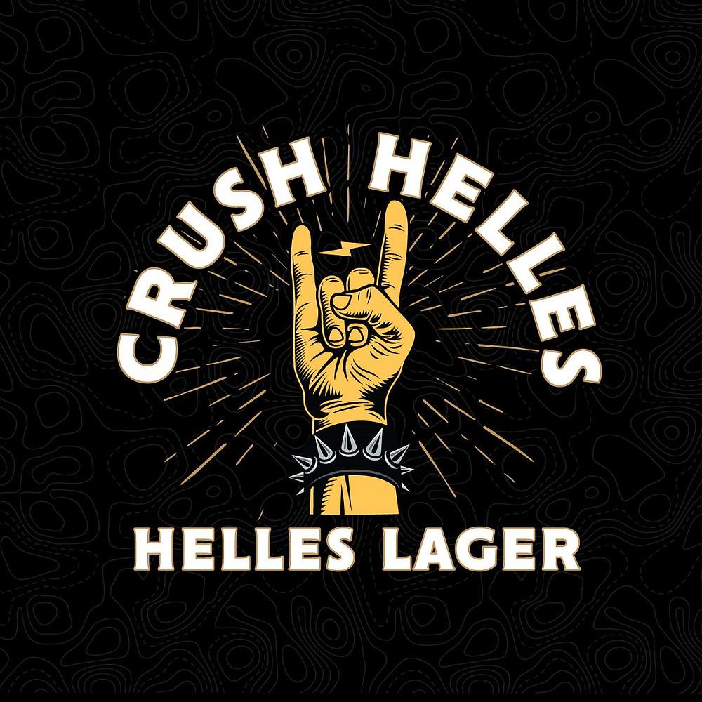 Crush Helles Helles Lager Beer