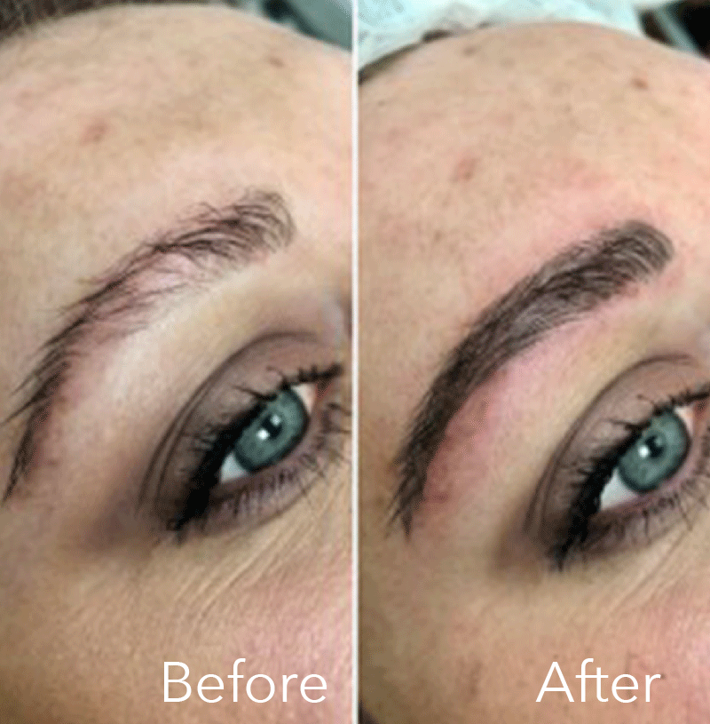 Microblading at Eterno