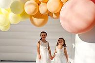 little girls birthday, funstation, bouncey castle