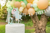 second birthday, balloons, montreal, ballöom