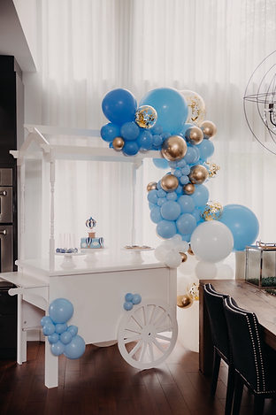 Our Sweets Cart + Balloon Combo
