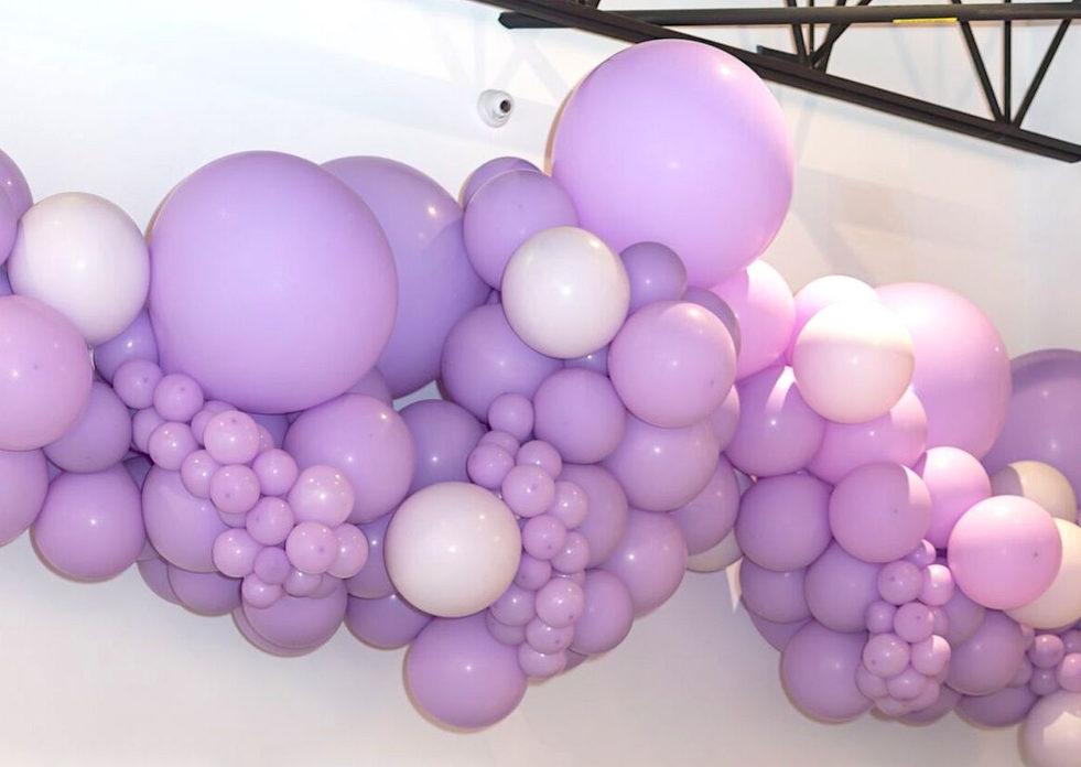 GROSSE guirlande de ballons