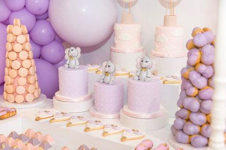 Chariot de Bonbons + Bonbons Pastel